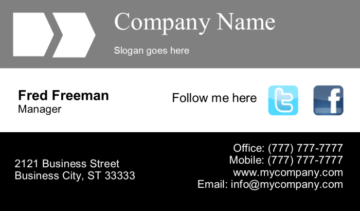 Business Card 1 Front