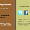 Business Card 3 Front