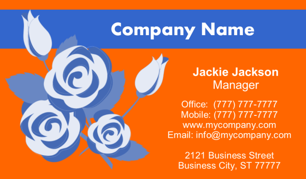 Business Card 10 Front