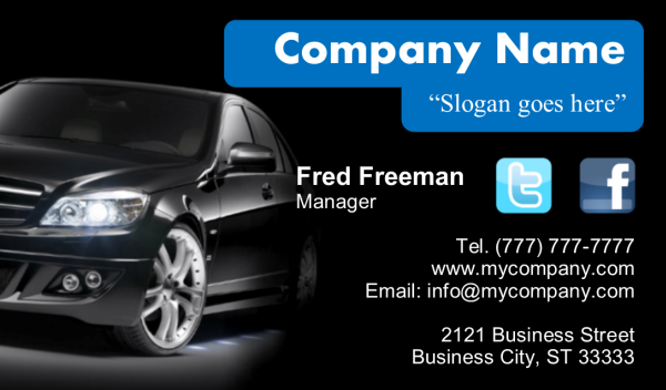 Business Card 11 Front