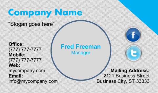 Business Card 13 Front