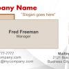 Business Card 14 Front