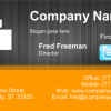 Business Card #19 - Front