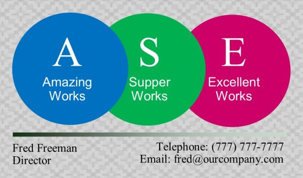 Business Card #21 Front
