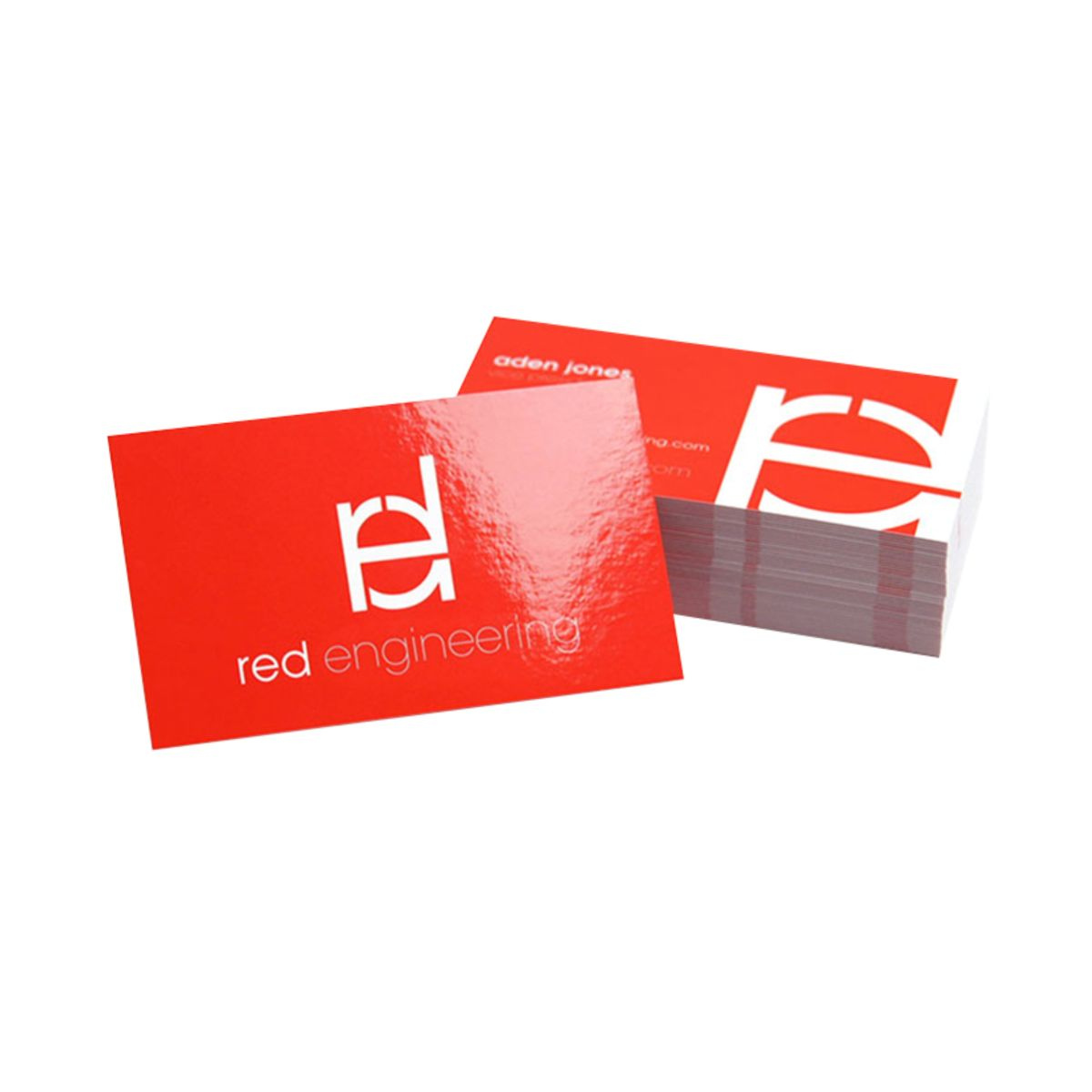 Glossy uv coated business cards qualita print colourmoves