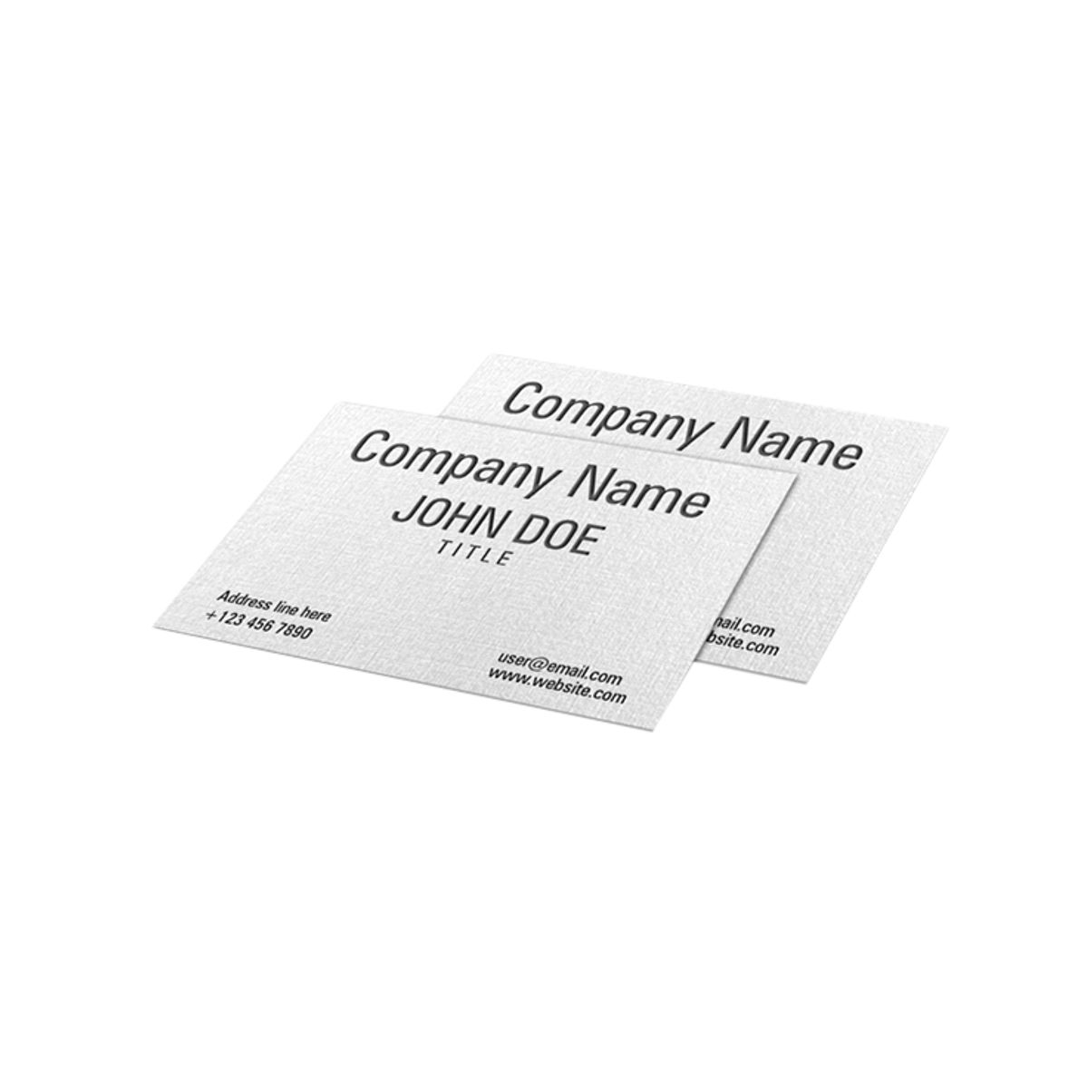 linen uncoated business card qualita print - Linen Business Cards
