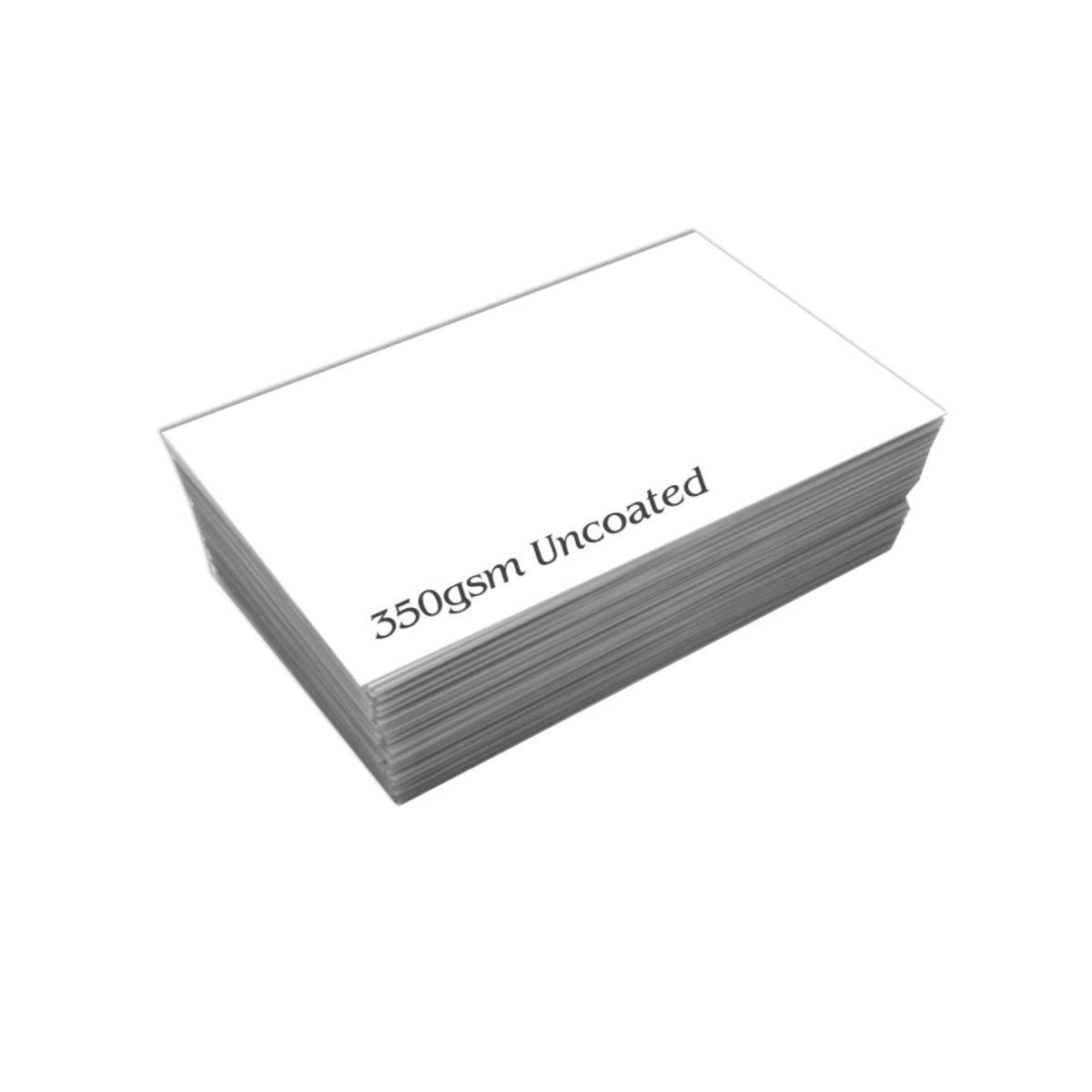 Uncoated Business Cards   Qualita Print