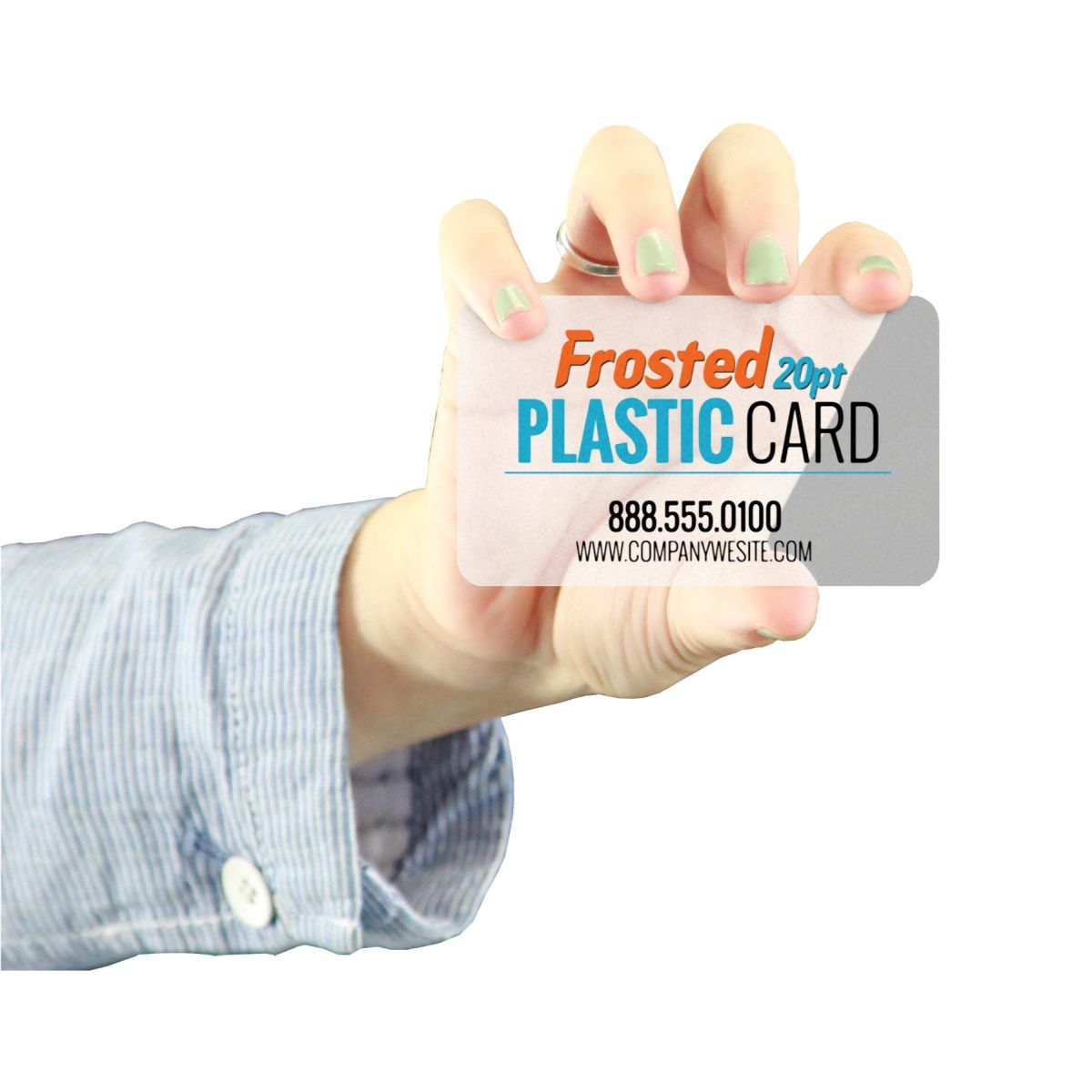 Frosted plastic business cards qualita print colourmoves