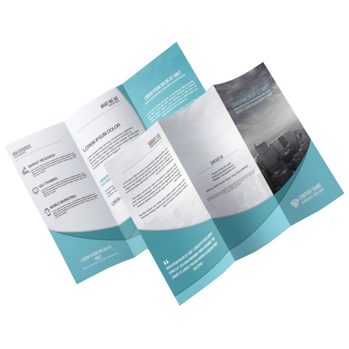 Brochure – Flyer With Gloss Cover- UV Coated – Gallery022118-3